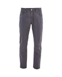 """Men's Grey Stretch Jeans 33"""" Leg"""