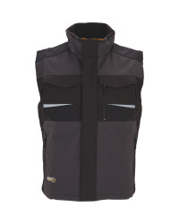 Men's Grey Workwear Pro Gilet