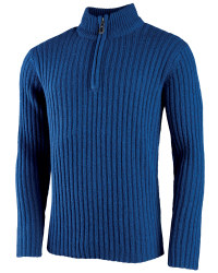 Men's Half-Zip Lambswool Pullover
