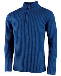 Men's Half-Zip Lambswool Pullover