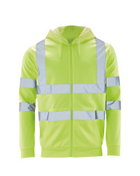 Workwear Hi-Vis Zip Hoody