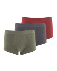 Men's Mixed Colour Hipsters 3 Pack