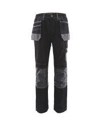 "Men's Holster Pocket Trousers 31"" - Black/Grey"