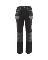 "Men's Holster Pocket Trousers 31"" - Black/Grey"