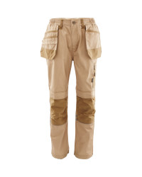"Men's Holster Pocket Trousers 31"" - Stone/Khaki"