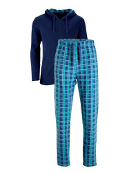 Men's Hooded Fleece Loungewear