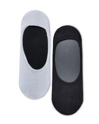 Men's Invisible Liner Socks - 3 Pack
