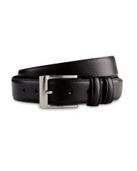 Avenue Men's Leather Belt - Black