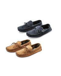 Avenue Men's Moccasin Slippers