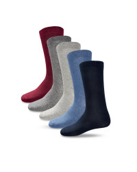 Men's Multi-Coloured Socks 5-Pack
