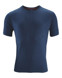 Men's Navy  Cotton T-Shirt