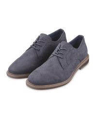 Men's Navy Laced Comfort Shoes