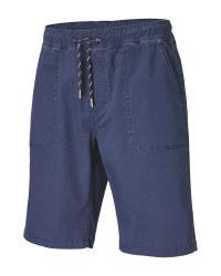 Men's Navy Shorts