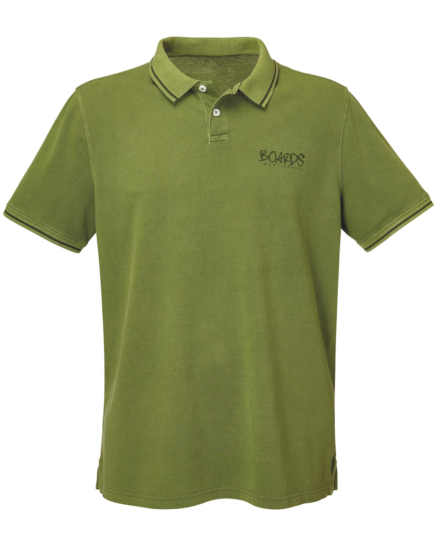 Men's Olive Polo Shirt