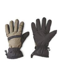 Men's Olive/Black Gloves