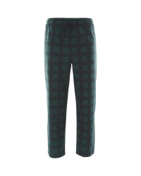 Men's Open Cuff Lounge Pants - Green/Navy