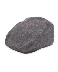Men's Plain Herringbone Winter Hat
