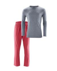 Men's Check Pyjamas