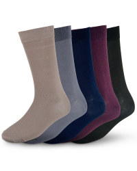 Men's Premium Modal Socks (5 Pack) - Multi
