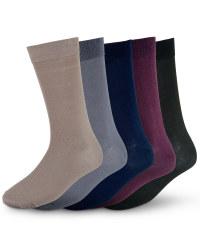 Men's Premium Modal Socks (5 Pack) - Multi