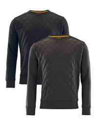Men's Workwear Pro Quilted Jumper