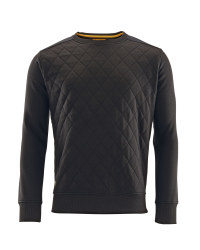 Men's Workwear Pro Quilted Jumper - Black