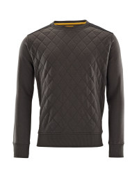 Men's Workwear Pro Quilted Jumper - Charcoal