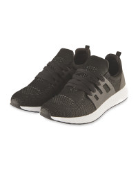 Crane Men's Running Trainers - Black