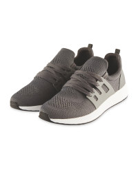 Crane Men's Running Trainers - Grey