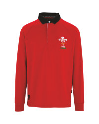 Men's Wales Rugby Long Sleeved Top