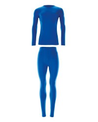 Men's Ski & Sports Base Layer Set - Blue