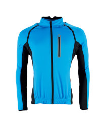 Men's Softshell Cycling Jacket - Blue