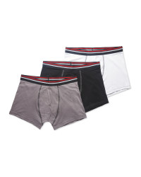 Avenue Men's Stripe Hipsters 3-Pack