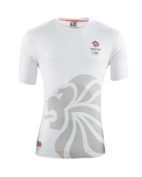 Men's Team GB Sports T - Shirt - White