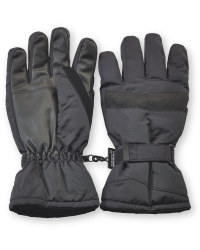 Men's Technical Ski Gloves - Black
