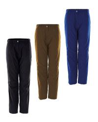 Crane Men's Thermal Outdoor Trousers