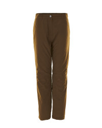 Crane Men's Thermal Outdoor Trousers - Dark Olive