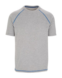 Men's Workwear Thermal T-Shirt - Grey