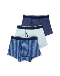 Men's Trunks - Stripe, Mint and Grey
