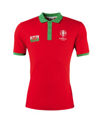 Men's Wales UEFA Football Polo Shirt