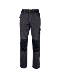 "Men's Work Trousers Long 33"" - Grey / Black"