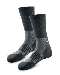 Men's Workwear Cordura Socks - Black