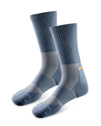 Men's Workwear Cordura Socks - Grey