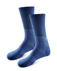 Men's Workwear Cordura Socks - Navy