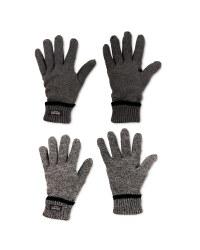 Men's Workwear Knitted Plain Gloves