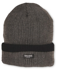 Men's Workwear Knitted Plain Hat - Dark Grey
