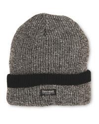Men's Workwear Knitted Plain Hat - Grey