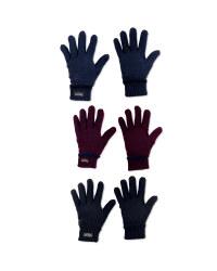 Men's Workwear Knitted Twist Gloves
