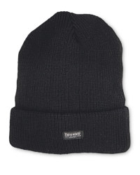 Men's Workwear Knitted Twist Hat - Black