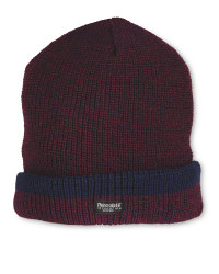 Men's Workwear Knitted Twist Hat - Burgundy